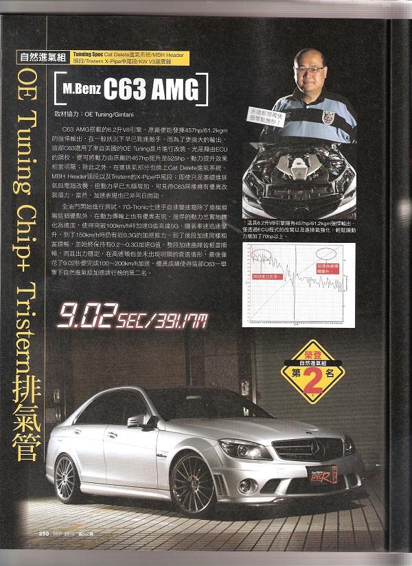 C63 AMG – OE Tuning Blog