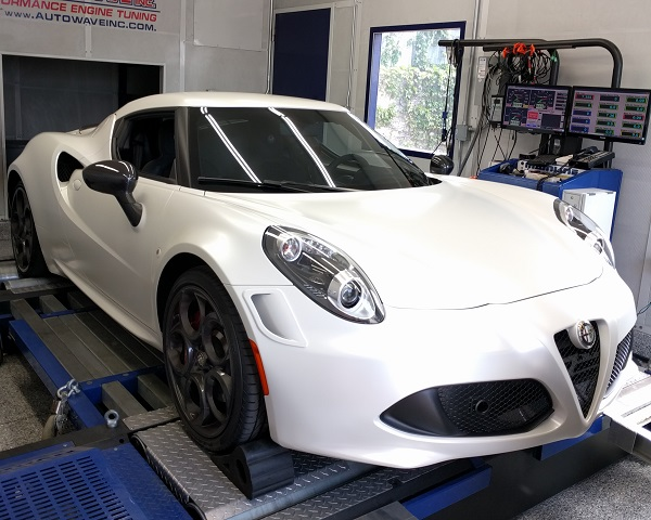 alfa romeo 4c ecu tune dyno tested oe tuning blog. Black Bedroom Furniture Sets. Home Design Ideas